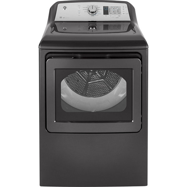 GE® ENERGY STAR® 7.4 cu. ft. Capacity Aluminized Alloy Drum Electric Dryer with Sensor Dry