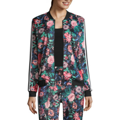 Project Runway Floral Bomber Jacket