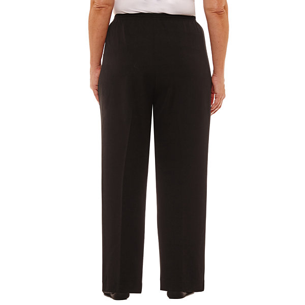 Alfred Dunner High Roller Classic Fit Pant-Plus