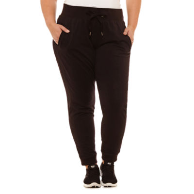 Xersion Drawstring Front Joggers-Plus