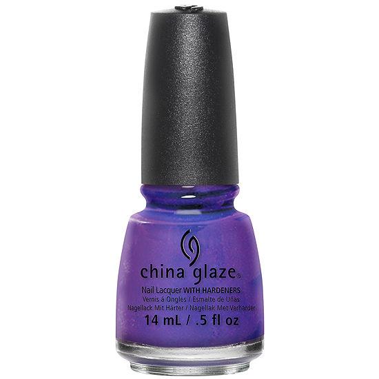 China Glaze® Neon Blue Tones Nail Polish Collection