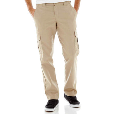 Dickies® Slim Fit Straight Leg Twill Cargo Pant