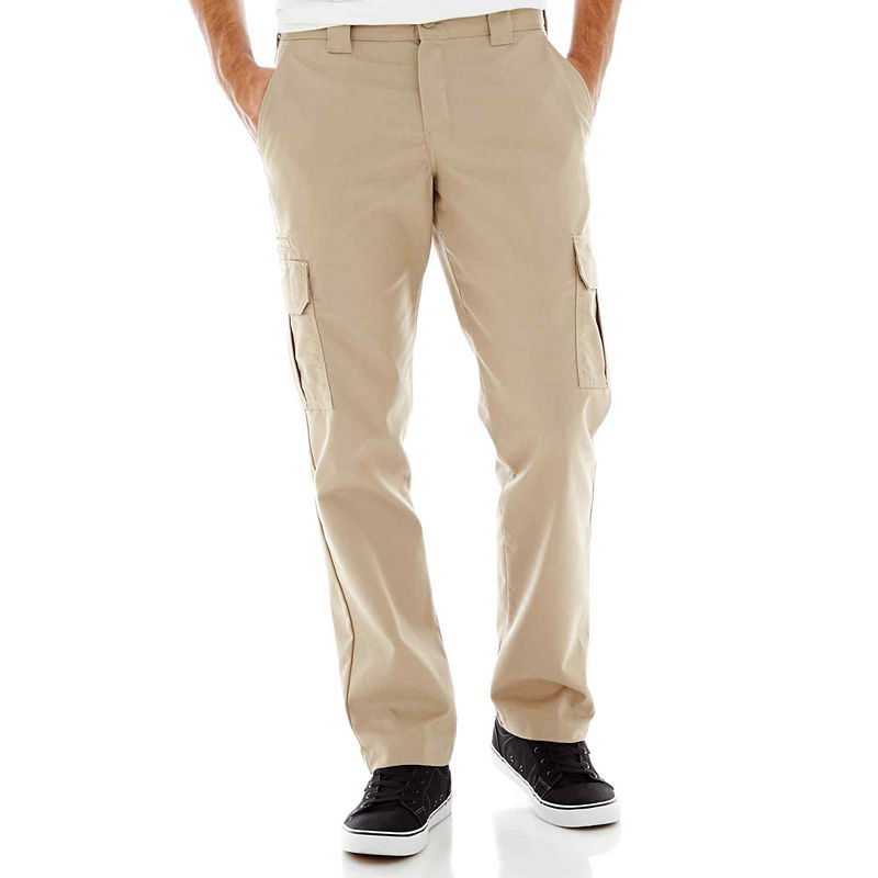 Dickies Slim Fit Straight Leg Twill Cargo Pant plus size,  plus size fashion plus size appare