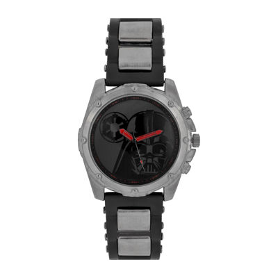 Star Wars® Mens Black Red Strap Watch