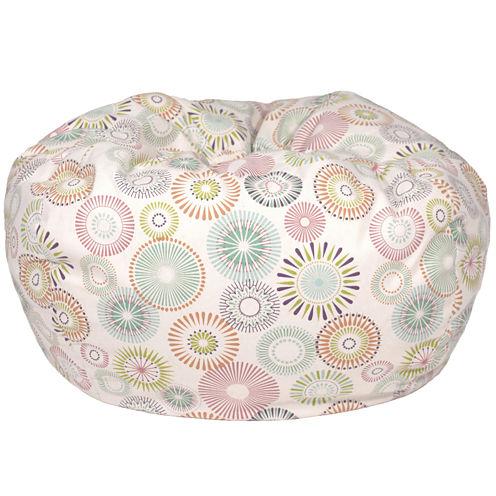 Cotton Pinwheel Beanbag