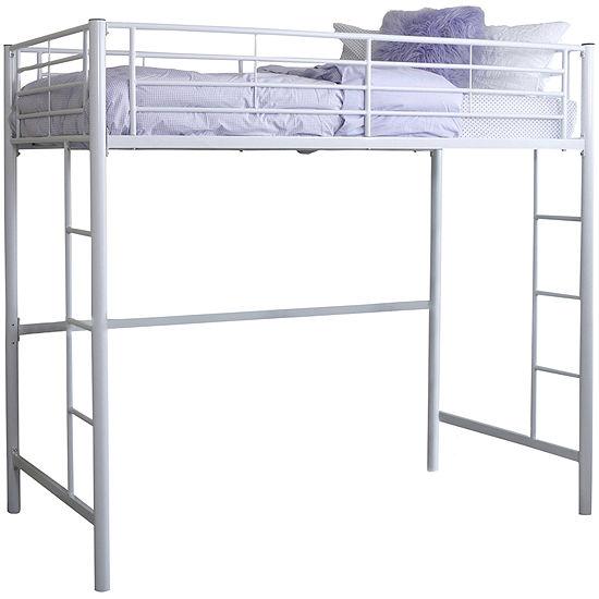 Pearson Twin Bunk Bed Over Loft
