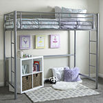 Pearson Twin Bunk Bed Over Loft