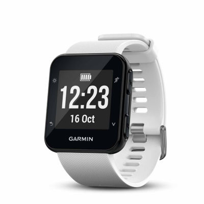 Garmin Forerunner 35 Mens White Smart Watch-0100168903key