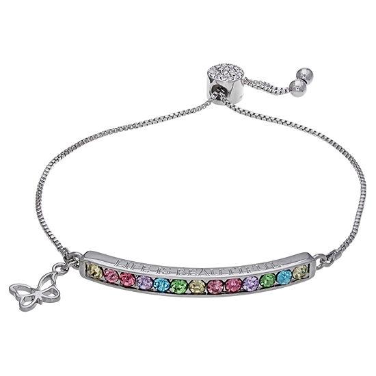 Sparkle Allure Multi Color Stretch Bracelet