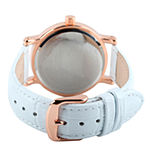 Disney Minnie Mouse Mens White Leather Strap Watch-W001857