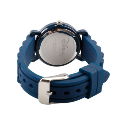 Disney Mickey Mouse Boys Blue Strap Watch-Wds000012