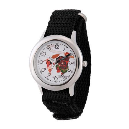 Disney Moana Boys Black Strap Watch-Wds000030. One Size