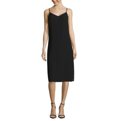Decree Midi Cami Slip Dress-Juniors