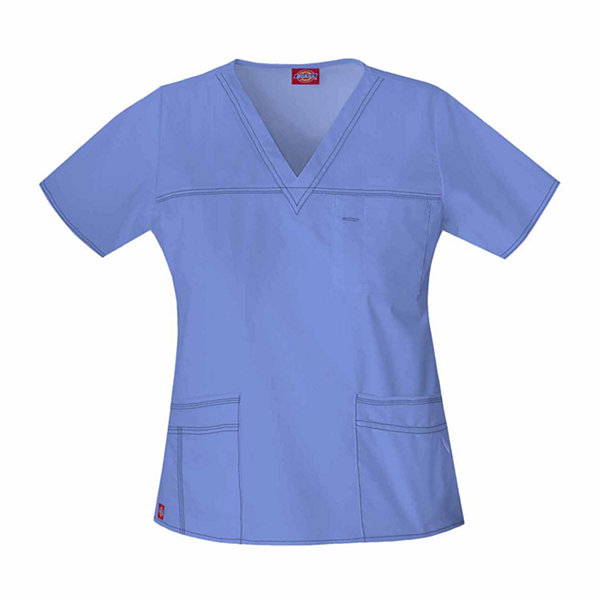 Dickies Youtility V Neck Scrub Top Juniors