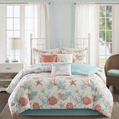 Madison Park Pacific Grove 7-pc. Easy Care Comforter Set