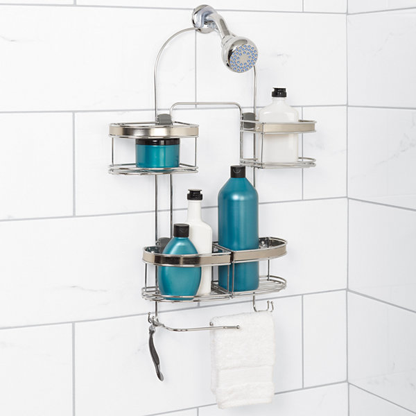 Zenna Home Expandable Over the Shower Door Caddy - JCPenney