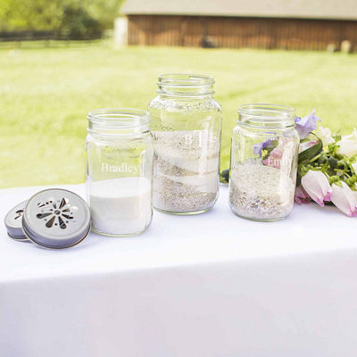 Mason Jar Sand Ceremony Set