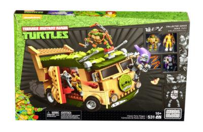 Mega Bloks Teenage Mutant Ninja Turtles Classic Series Party Wagon Construction Set
