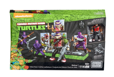 Mega Bloks Teenage Mutant Ninja Turtles Collectors Bebop Villain Pack
