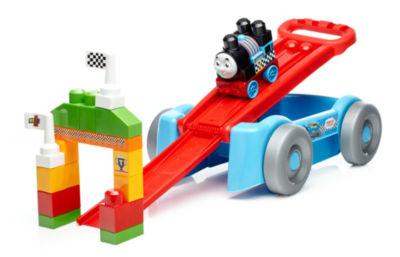Mega Bloks Thomas Racin' Railway Wagon Building Set Building Kit