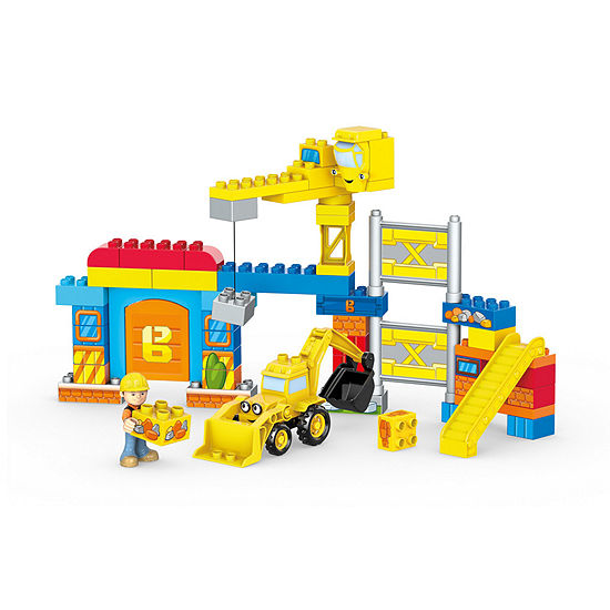 Mega Bloks Bob the Builder Work Yard Build-Up