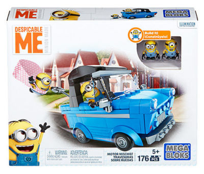 Mega Bloks Despicable Me Motor Mischief