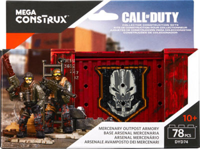 Mega Construx Call of Duty Mercenary Outpost Armory
