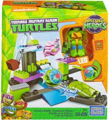 Mega Construx Teenage Mutant Ninja Turtles FactoryBattle