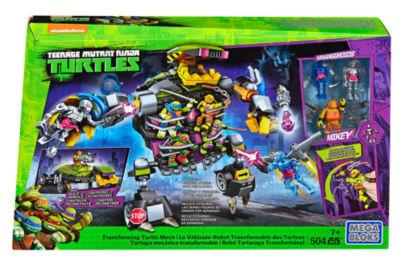 Mega Construx Teenage Mutant Ninja Turtles Transforming Turtle Mech