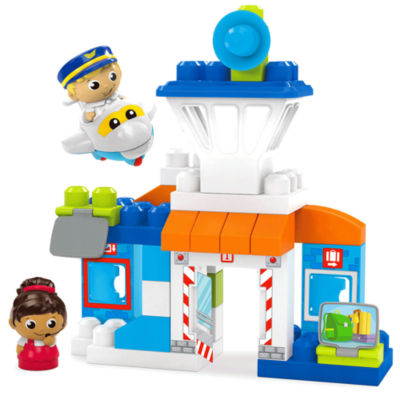 Mega Bloks First Builders Skybright Airport Building Set