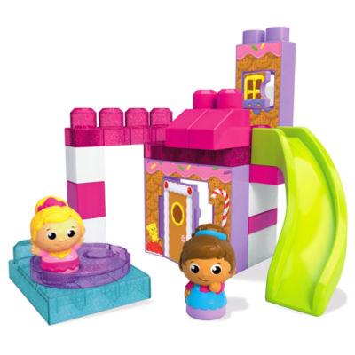 Mega Bloks Spin 'n Play Gingerbread Park Playset