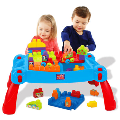 Mega Bloks Build 'n Learn Table Building Set