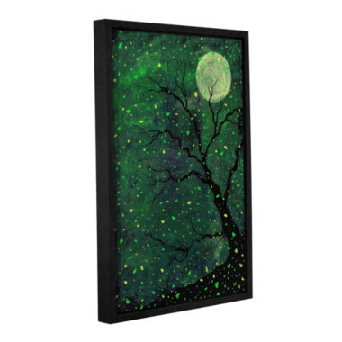 Brushstone Moonchild Gallery Wrapped Floater-Framed Canvas Wall Art