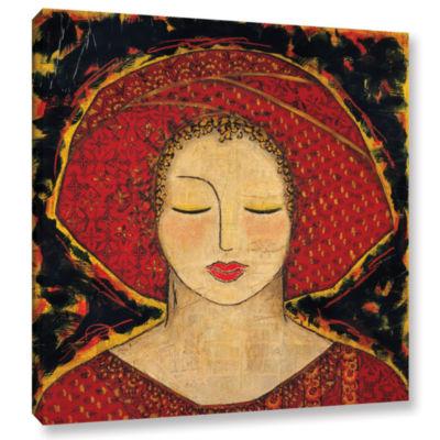 Brushstone Morning Meditation Gallery Wrapped Canvas Wall Art