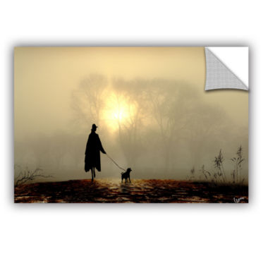 Brushstone Morning Mist Removable Wall Decal