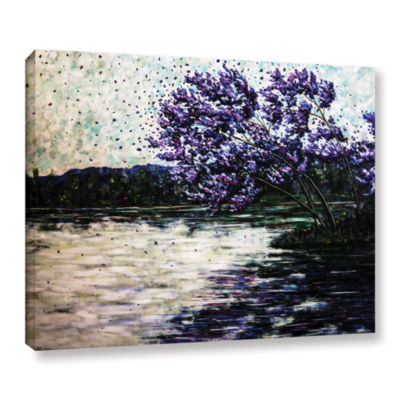 Brushstone Morning Reflections Gallery Wrapped Canvas Wall Art