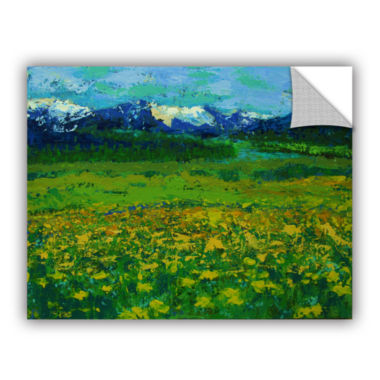 Brushstone Mountain Meadow (Wildflowers) RemovableWall Decal