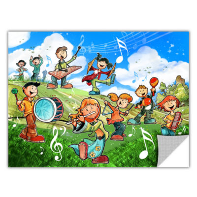 Brushstone Music Kids Removable Wall Decal