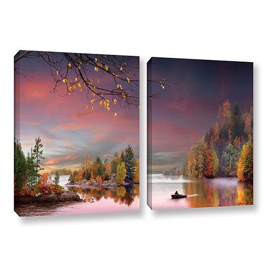 Brushstone Muskoka Life 2-pc. Gallery Wrapped Canvas Wall Art
