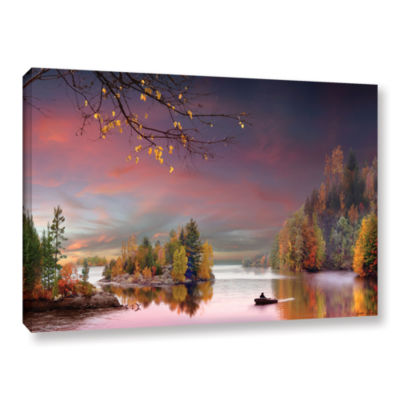 Brushstone Muskoka Life Gallery Wrapped Canvas Wall Art