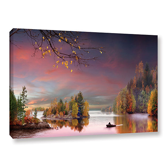 Brushstone Muskoka Life Gallery Wrapped Canvas Wall Art