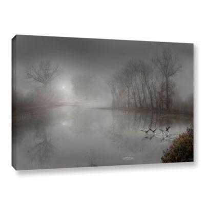 Brushstone Mystic Fog Gallery Wrapped Canvas WallArt