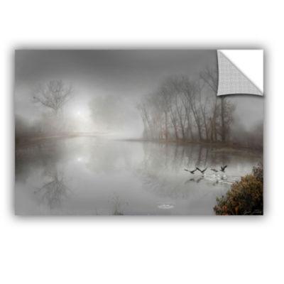 Brushstone Mystic Fog Removable Wall Decal