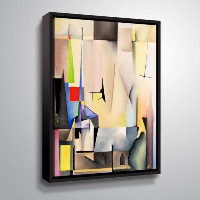 Brushstone Salem Gallery Wrapped Floater-Framed Canvas Wall Art