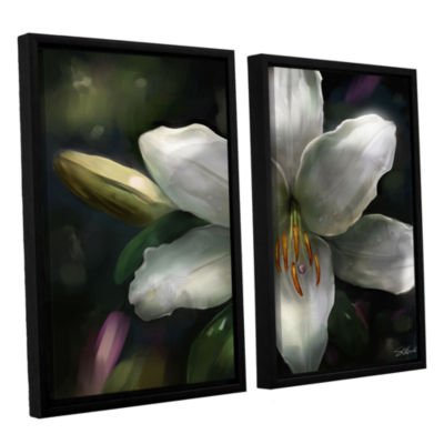 Brushstone Star Gazer 2-pc. Floater Framed CanvasWall Art