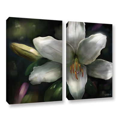 Brushstone Star Gazer 2-pc. Gallery Wrapped CanvasWall Art
