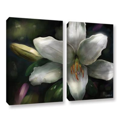 Brushstone Star Gazer 2-pc. Gallery Wrapped CanvasWall Art