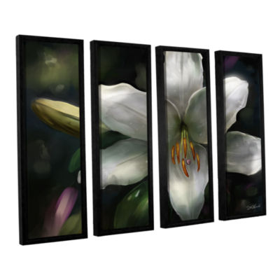 Brushstone Star Gazer 4-pc. Floater Framed CanvasWall Art