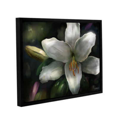Brushstone Star Gazer Gallery Wrapped Floater-Framed Canvas Wall Art