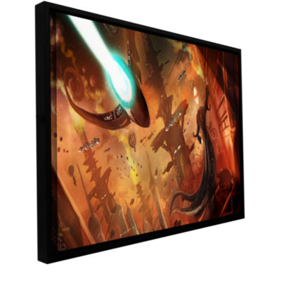 Brushstone Rust World 2014 Gallery Wrapped Floater-Framed Canvas Wall Art